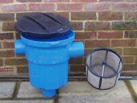 Rainwater harvesting leaf filter, 3PGarden Filter GF (3P Technik Filtersysteme)