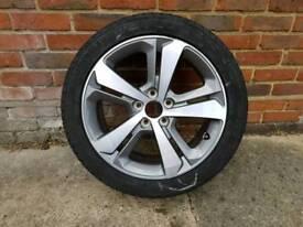 Peogout 308 Spare Alloy Wheel