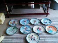 Legends of West Lake Porcelain Plates