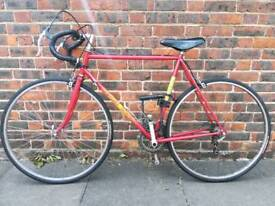 Vintage Red Road bike