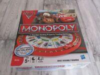 Disney Cars Monopoly Game