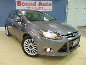 2012 Ford Focus TITANIUM, NAVIGATION, LOADED, ACCIDENT FREE