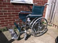 Self propelled folding Wheelchair VGC Can deliver
