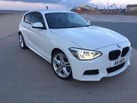 BMW 120D MSport 2013 184BHP Sport Auto White