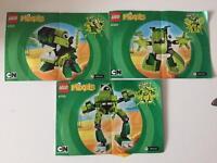 Lego Mixels Series 3 - GLOMP, GLURT, TORTS - 41518, 41519, 41520