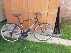 GENTS APOLLO CODE MOUNTAIN/HYBRID BICYCLE WITH LOCK