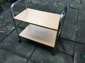 Food breakfast dinner lunch kitchen trolley table can deliver.