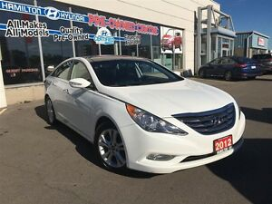 2012 Hyundai Sonata | LIMITED | LEATHER | ROOF | ALLOYS | HEATED