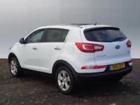 Kia Sportage CRDI 2 (white) 2013-06-14