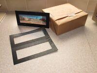 Black Card Mounts for 617 6cm x 17cm Panorama Fuji Transparencies