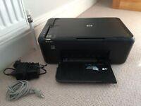 HP Deskjet F4580 Wireless Printer, Scanner & Copier - immaculate condition