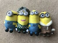 Minions Children's cuddly toys - Despicable Me - £15 for 4 of £5 each