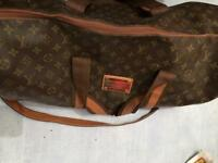 Louis vuitton vintage duffle