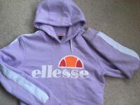 Ellesse crop hoodie (lilac)