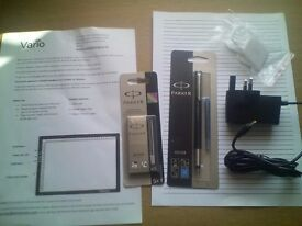 Vario A4 Light Pad, brand new. Unwanted xmas present. Includes extras.
