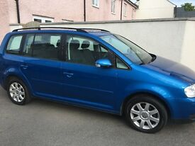 Volkswagen Touran 1.9 Diesel 7 seater 55 plate (oct 2005) great condition full service history