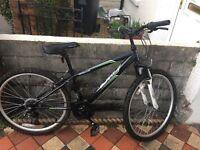 Apollo slant mountain bike 18 gears 14 inch frame 26 inch wheels v brakes