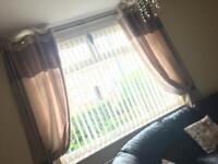 Dunelm curtains (90x90)