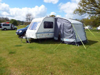 Swift two berth caravan