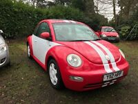 sold sold sold 2001 (Y) VW BEETLE 2.0 PETROL AUTOMATIC 91860 MILES PART HISTORY MOT EXP 23/05/2017