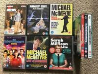 9 comedy dvd selection