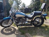 Yamaha Dragstar XVS650 Cruiser ONLY 12.000 miles 1 year MOT NO SILLY OFFERS
