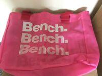 Bench beach bag