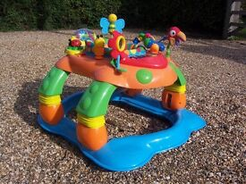 Baby walker and baby activity centre