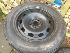 Dunlop SP Sport 195/65/15 on 5x100 wheel
