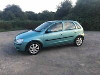 Vauxhall Corsa 1.2 with Low Milage and Long MOT