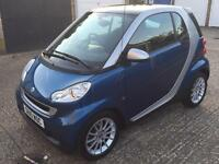 2010 (10) SMART FORTWO 1.0 PASSION MHD AUTO PETROL