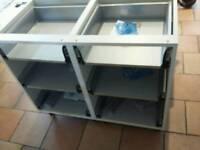 Kitchen drawers 500mm 2 sets