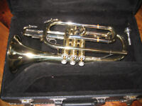 Blessing B120 Cornet with 4B mouthpice in Hard Case