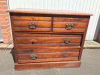 Big Vintage Chest of Drawers Dresser SE24 London