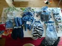 Newborn 0-3m boys clothes bundle