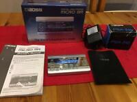 Boss Micro BR - portable multi-track recorder