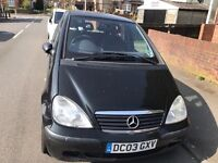 Mercedes A class 1.4 ready to go £380