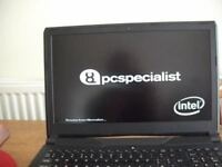Pc Specialist Gaming/Work Laptop - less than half price!