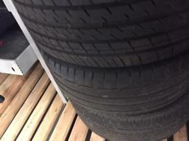 Tyres 225/45/R17