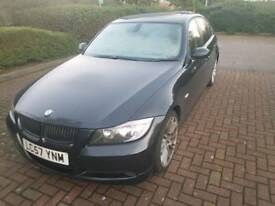 Bmw 320d ES Black Sat-Nav Leather Heated Seats