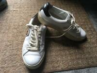 Karl lagerfeld ladies trainers white size 5/38 used good condition £5