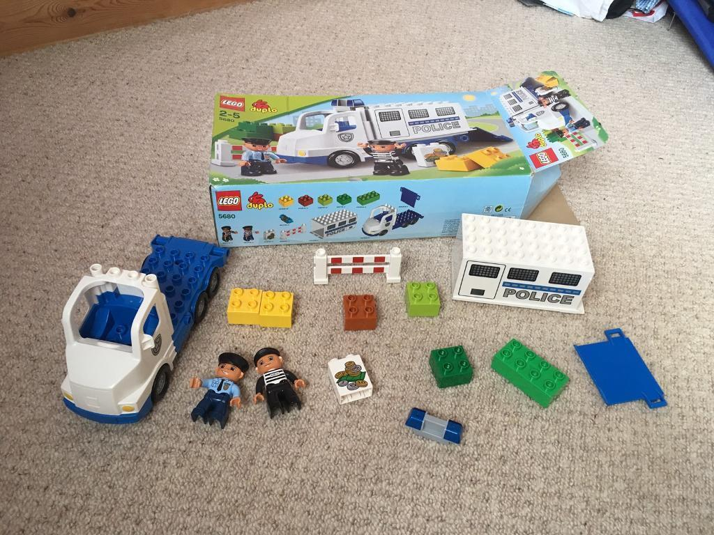 Lego duplo police truckin Arnold, NottinghamshireGumtree - Lego duplo police truck 5680, in original box with all the parts. In excellent condition. Collect Arnold area