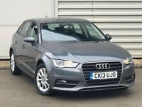 2013 Audi A3 2.0 TDI SE Sportback 5dr diesel grey***ONE OWNER**FSH** NOT GOLF LEON