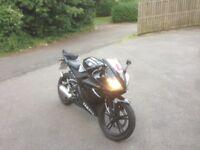 Yamaha r125 black