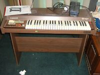 CRB ELETTRONICA MASCOT DIAMOND ORGAN / KEYBOARD PIANO