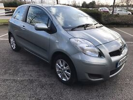 Fabulous Condition 2009 59 Toyota Yaris 1.33 3 Door TR MMT Automatic Pro Pack 20522 Miles Only!!