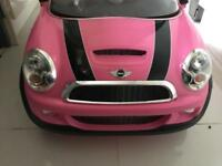 Mini Cooper - electric ride on