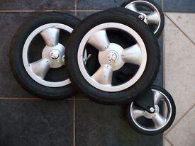 Pram Tyres 12.5 X 2.25 , Tubes