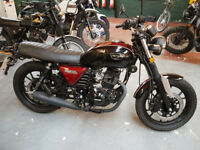 Hanway Raw 125cc 2018 Learner Legal Cafe Racer.