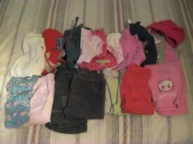 Bundle of Clothes For a Baby Girl 0-12 Months